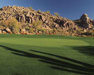 Golf event at Troon North Pinnacle